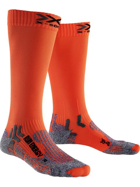 X-Socks Run Energizer Long Socks Orange Sunshine